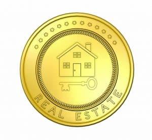 מטבע בצבע זהב