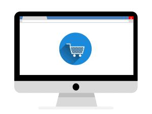 קניות אונליין במסך